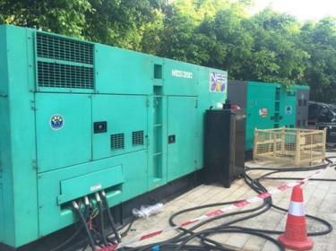 中山发电机出租公司应用于工地工厂